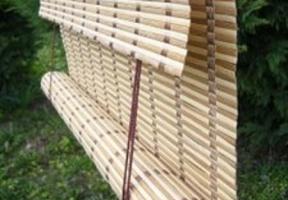 Jaluzele din bambus – tip rulou