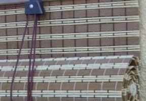 Jaluzele clasice din bambus – tip rulou
